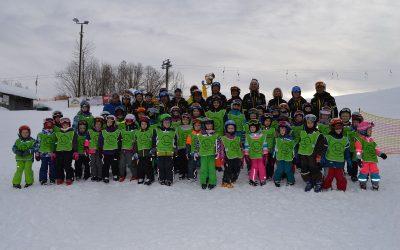 Fotos vom Skikurs und der Skiortsmeisterschaft