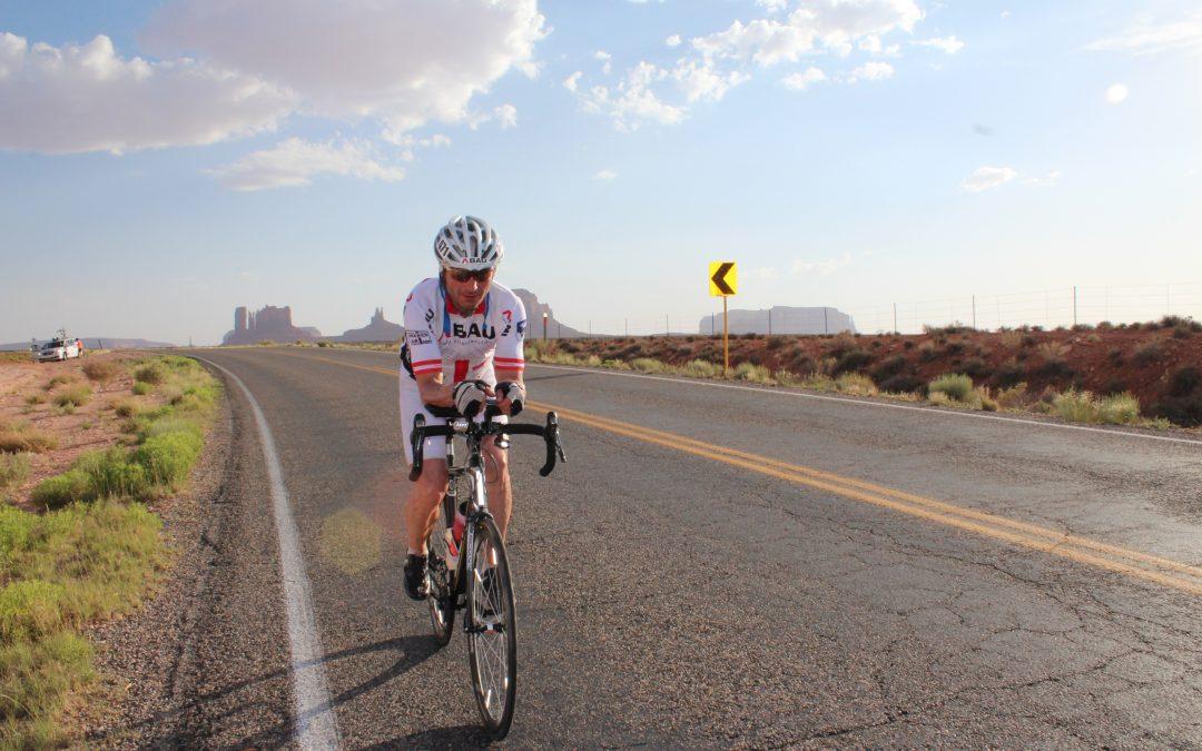 Vortrag von Race Across America-Sieger Franz Wintersberger
