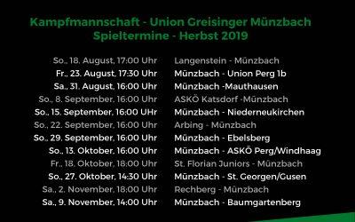Meisterschaftsbeginn in Langenstein